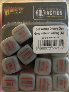 Order Dice Pack - Grey with red fill