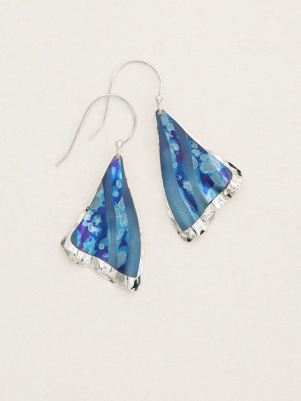 Petite Misty Point Earrings