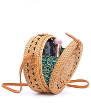 Load image into Gallery viewer, Braided Details Rattan Bag