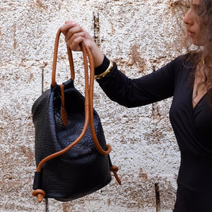 Hayat Mini Leather Shoulder Bag