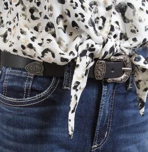 Western Style Lotus Design Belt