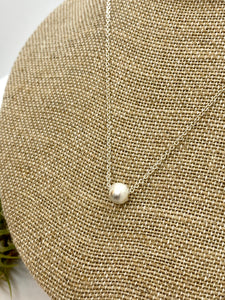 Brushed Silver Ball Pendant
