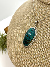 Load image into Gallery viewer, Large Turquoise Statement Pendant