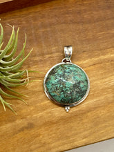 Load image into Gallery viewer, Rich Turquoise Statement Pendant