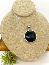 Load image into Gallery viewer, Stunning Extra-Large Onyx Pendant
