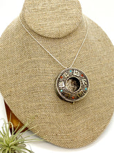 Load image into Gallery viewer, Open Tibetan Mantra Box Necklace