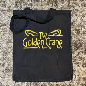 The Golden Crane Shopping Bag