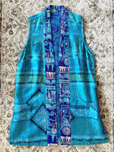 Load image into Gallery viewer, Moonlight Kantha Vest