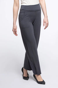 Kayla Wide Leg, Fold-over Waist Pant