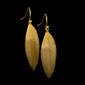 Cordyline Leaf Earrings