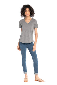 Perfect V-Neck Tee, Multiple Colors