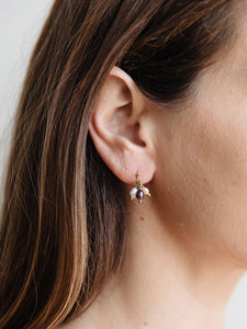 Pippa Earrings, Pearls and Gold