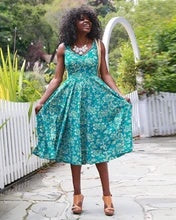 Sonnet Dress, Flourista Print