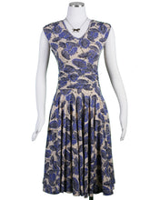 Load image into Gallery viewer, Charming Dress, Rainy Day Print