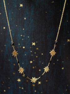 Austen Necklace, Gold