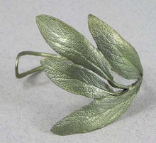 Load image into Gallery viewer, Sage Leaf Cuff