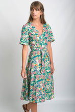 Load image into Gallery viewer, Ida Floral Print Wrap Dress