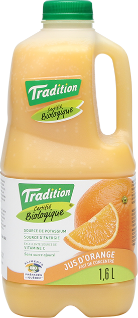 Jus Biologique Orange - 1.6L