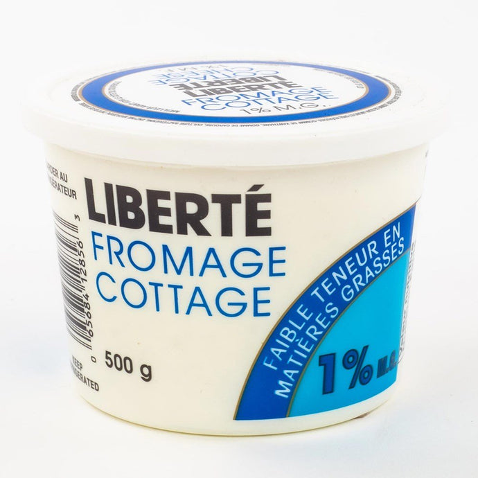 Fromage cottage 1% 500 g