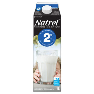Lait 2% finement filtré 1 L