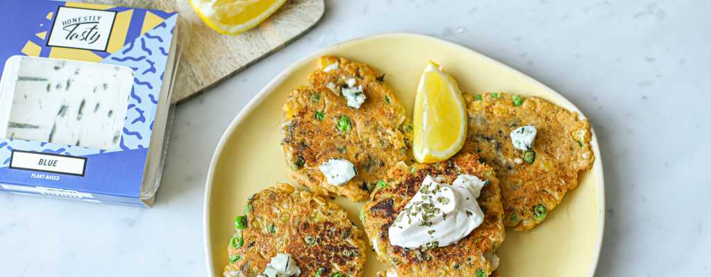 Ched & Sweetcorn Fritters