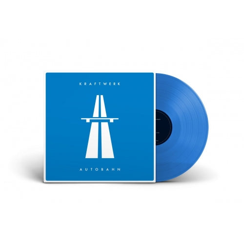 Kraftwerk - Autobahn  (Limited blue LP plus booklet)  PRE-ORDER