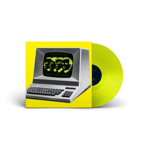 Kraftwerk - Computer World  (Limited neon yellow LP plus booklet)  PRE-ORDER