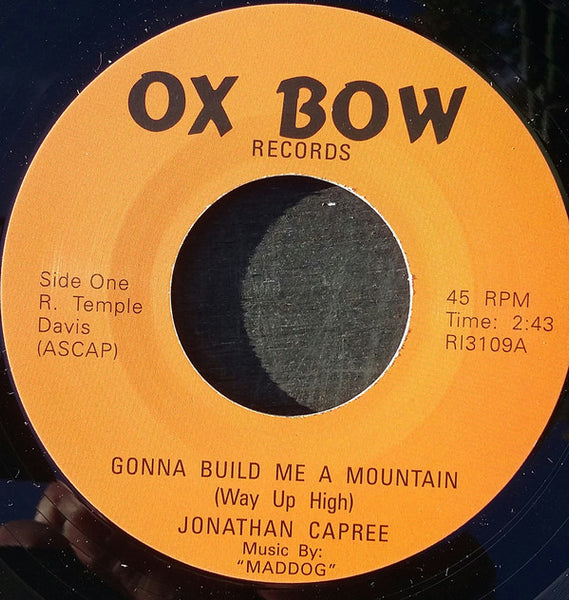Jonathan Capree/Gonna Build Me A Mountain  (b) (double a side)