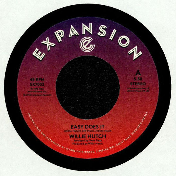 Willie Hutch/Easy Does It  (b) Kelly Green