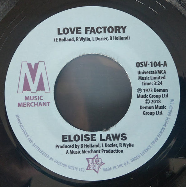 Eloise Laws/Love Factory  (b) Just Brothers/Sliced Tomatoes
