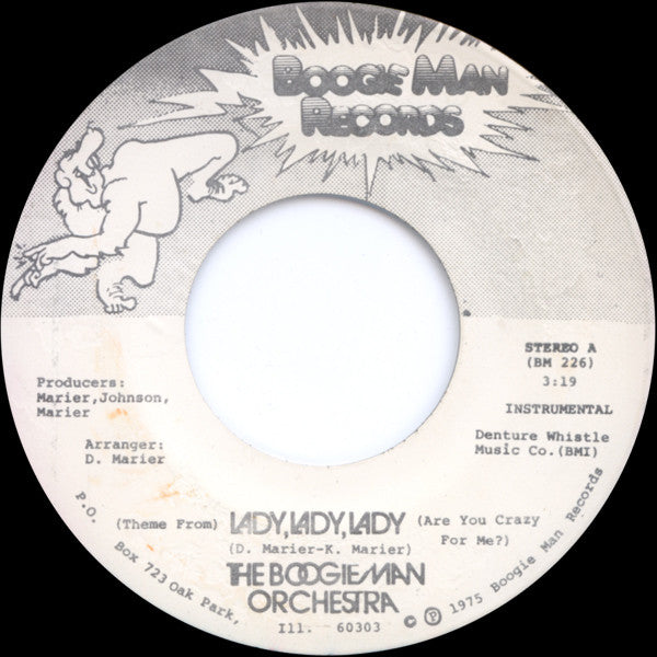 Boogie Man Orchestra/Lady Lady Lady, Instrumental  (b) Vocal