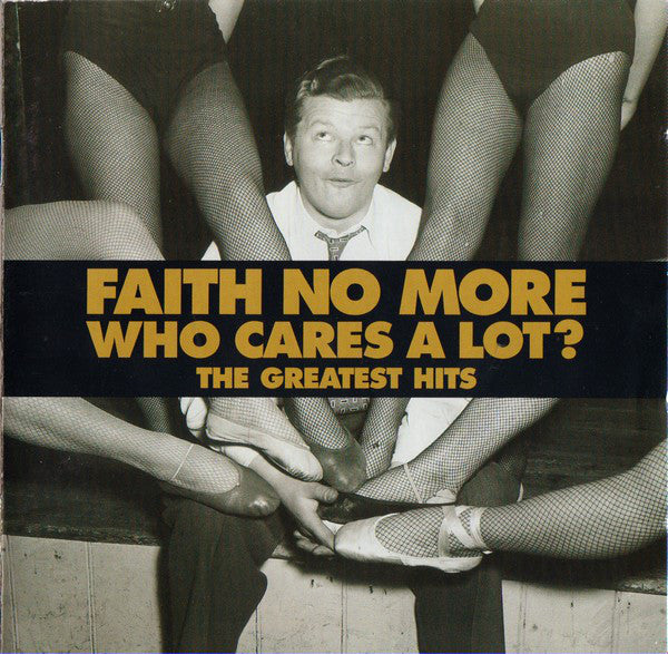 Faith No More - Who Care's A Lot ? The Greatest (2LP gold vinyl, limited)  PRE-ORDER
