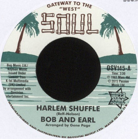 Bob And Earl/Harlem Shuffle  (b) Mel And Tim/Backfield In Motion