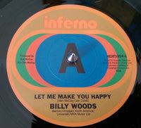 Billy Woods/Let Me Make You Happy  (b) Decisions/I Can't Forget About You