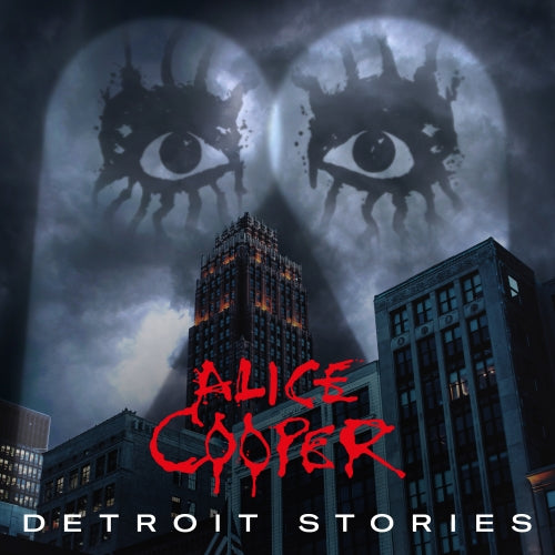 Alice Cooper - Detroit Stories ( very limited red 2LP, 1 per customer) PRE-ORDER