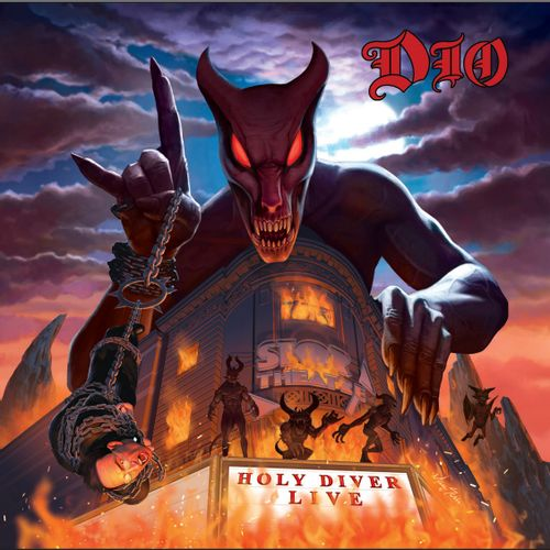 Dio - Holy Diver Live (limited 3LP in gatefold lenticular sleeve)