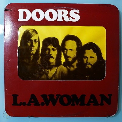 Doors - L A Woman (Die Cut Sleeve)