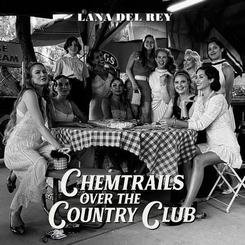Lana Del Ray - Chemtrails Over The Country Club ( limited indies yellow vinyl)  PRE-ORDER