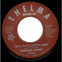 Emanuel Laskey/I'm A Peace Loving Man  (b) Don't Lead On Me Baby