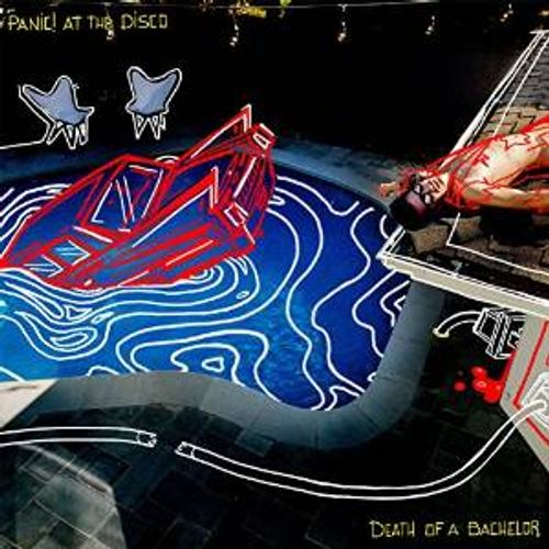 Panic ! At The Disco- Death Of A Bachelor (FBR 25th Anniversary Silver vinyl)  PRE-ORDER