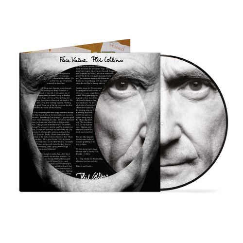 Phil Collins - Face Value (40th Anniversary Picture disc and printed insert)  PRE-ORDER