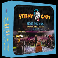 Stray Cats - Rocked This Town. From LA To London ( 2LP limited blue vinyl)