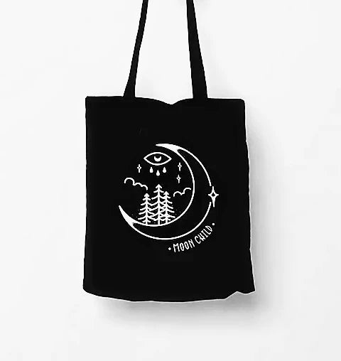 Moon Child Tote Bag
