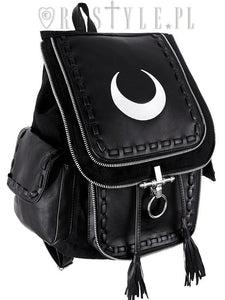 Crescent White Backpack