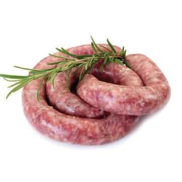 Lot de 4 saucisses chipolata - 320g