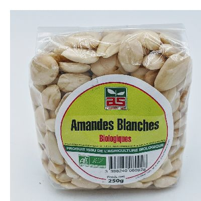 AMANDES BLANCHES ASBIO 250G