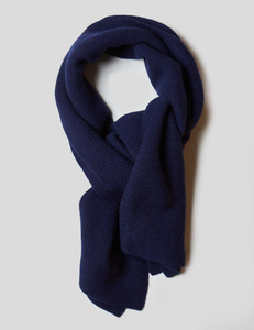 Nigel Cabourn - Solid Scarf - Black Navy