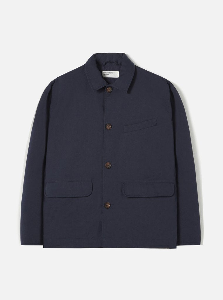 Universal Works - Warmus Jacket - Navy Twill