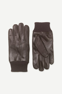 Samsøe Samsøe - Hackney Gloves 8168 - Dark Brown