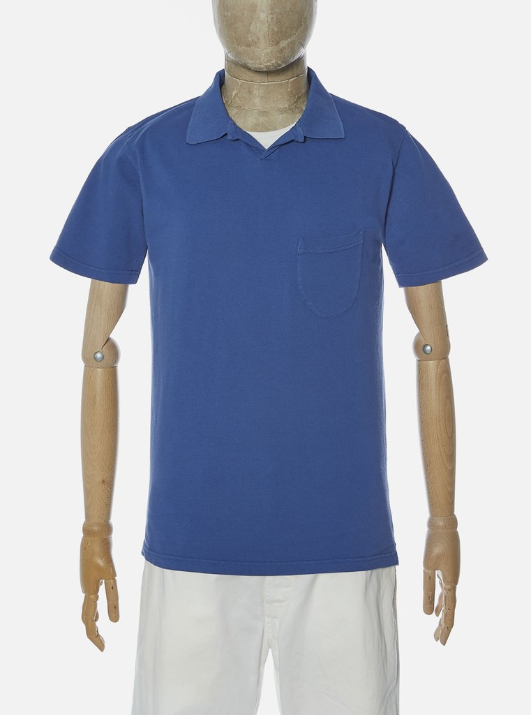 Universal Works - Vacation Polo - Blue